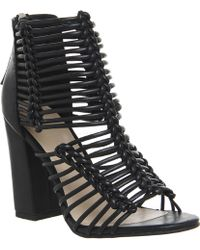 Office | Advocate Strappy Shoe Boots | Lyst