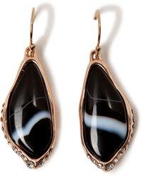 Alexis Bittar Crystal Encrusted Infinity Drop Earrings - Lyst