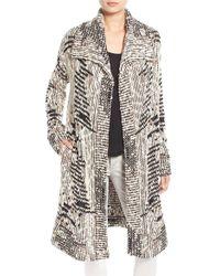 Ella Moss - 'gemma' Long Sweater Coat - Lyst