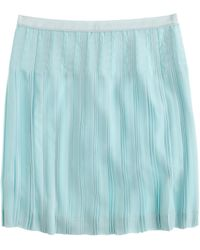 J.Crew Petite Stitched-Down Pleated Mini Skirt - Lyst