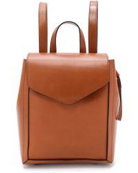 Loeffler Randall Mini Backpack - Cuoio brown - Lyst