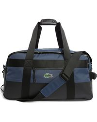 Lacoste | Navy Weekend Bag With Black Trim | Lyst