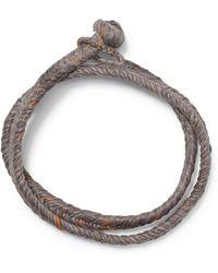 Club Monaco - Scosha Monkey Knot Bracelet - Lyst