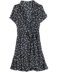 Polo Ralph Lauren Penelope Cap Sleeve Dress - Lyst