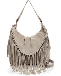 Sorial - Carli Suede Shoulder Bag - Lyst