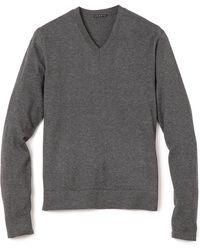 Theory Leiman V Neck Sweater - Lyst