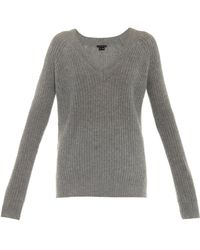 Theory Corlyann Cashmere Sweater - Lyst