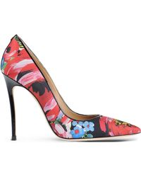 DSquared² Closed-Toe Slip-Ons floral - Lyst