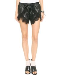 Stylestalker Only with You Shorts Black - Lyst