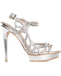 Pelle Moda 'Fey' Sandals - Lyst