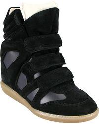 Isabel Marant Bekett Suede Sneakers - Lyst