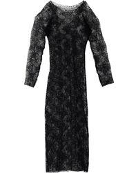 Yohji Yamamoto Knee-Length Dress - Lyst
