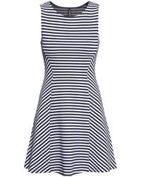 H&M Ribbed Dress - Lyst