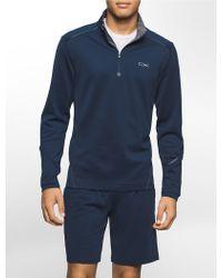 Calvin Klein | White Label Performance 1/4 Zip Pullover | Lyst