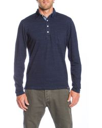 Faherty Brand Ls Jersey Beach Polo - Lyst