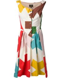 Vivienne Westwood Anglomania Saturday Cotton Dress - Lyst