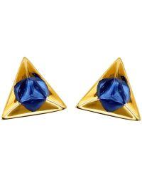 Ruifier - 'stella' Sapphire Earrings - Lyst
