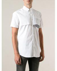 DSquared2 Layered Shirt - Lyst