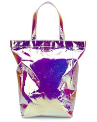 Zilla - 'large Glossy' Tote - Lyst