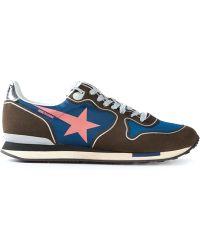 Golden Goose Deluxe Brand Star Print Sneakers - Lyst