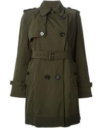 Moncler 'Adeline' Trench Coat - Lyst