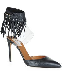 Valentino Rockee Leather Pump - Lyst