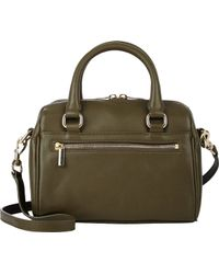 Barneys New York Mini Duffel Bag green - Lyst
