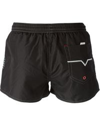 Diesel Branded Track Shorts - Lyst