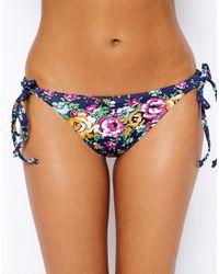 Freya Memphis Rio Tie Side Bikini Bottoms - Lyst