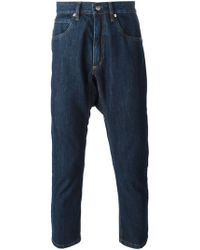 Societe Anonyme Dropt-Crotch Cropped Jeans - Lyst