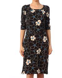 King Louie Pencil Dress - 4238008 Mona Dress 3/4 Sl Victoria - Lyst