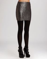 BCBGeneration Skirt - Metallic Textured - Lyst