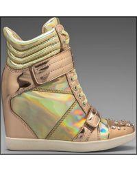 Boutique 9 Nevan Wedge Sneaker - Lyst