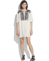 Madewell - Jm Drygoods&Trade; Embroidered San Vicente Blouse - Lyst