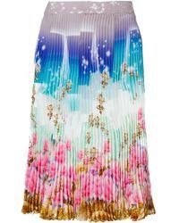 Manish Arora Printed Skirt - Lyst