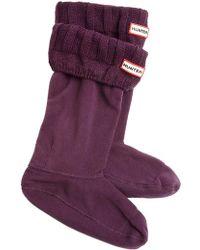 Hunter Guernsey Boot Socks - Lyst