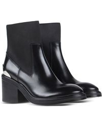 Acne Studios Ankle Boots black - Lyst