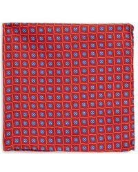 Ted Baker Silk Pocket Square - Lyst