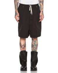 Rick Owens Men'S Patagonia Faun Shorts - Lyst