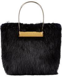 Balenciaga Beaver Fur Shopper - Lyst