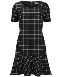 Great Plains - Women's Herringbone Check Swing Dress - Lyst