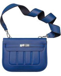 hermes medium Berline Sport paradise blue/sapphire blue