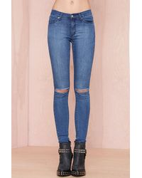 Nasty Gal Cheap Monday Prime R2 Jeans - Lyst