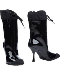Miu Miu Ankle Boots black - Lyst