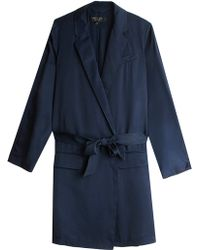 Rag & Bone Luxe Robe Coat - Lyst