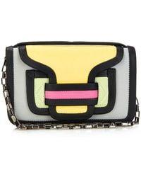 Pierre Hardy Colour-Block Leather Shoulder Bag - Lyst