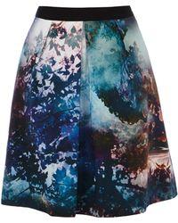 Coast Willow Print Skirt - Lyst