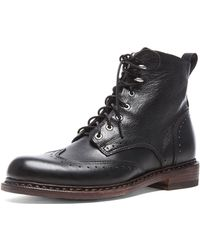 Rag & Bone Cozen Leather Boots - Lyst