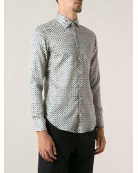 Etro Printed Shirt - Lyst