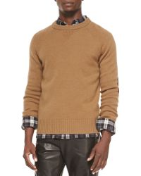 Vince Lux Cashmere-Wool Sweater - Lyst